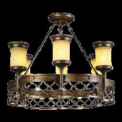 Установка люстры, светильника