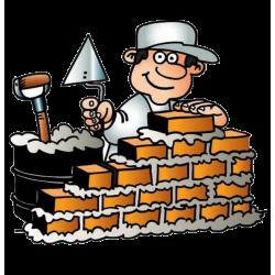 Каменщик отличная кладка кирпича недорогая цена. У нас надёжная кирпичная кладка нашим каменщиком