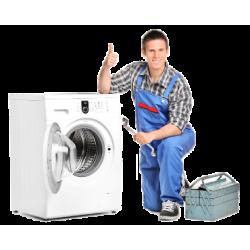 Установка стиральных машин, подвод воды и канализации, подключение к электросети + автомат