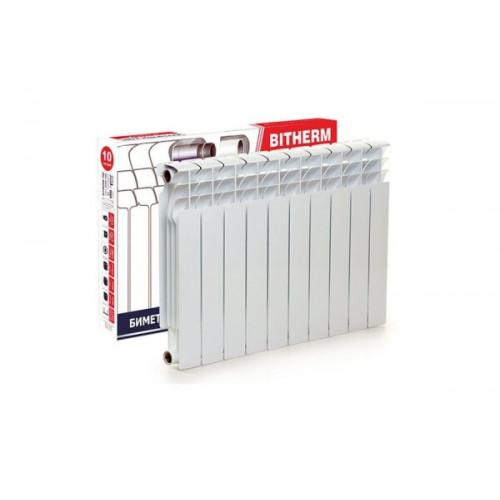 Радиаторы отопления биметаллические батареи Bitherm в упаковке 10 секций
